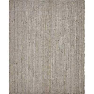 Gambrel Hand-Braided Gray Area Rug - Wayfair