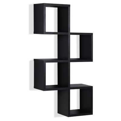 Cubby Chessboard Wall Shelf - Black - Danya B. - Target