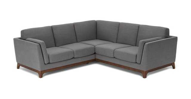 Ceni Pyrite Gray Corner Sectional - Article