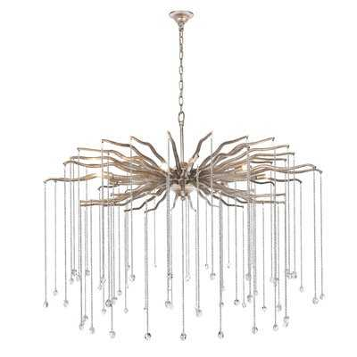 Delesha 7-Light Candle-Style Chandelier - Wayfair