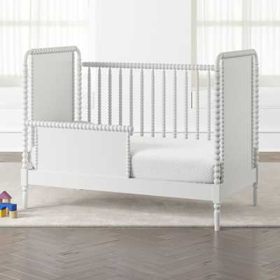 Jenny Lind White Toddler Rail - Crate and Barrel