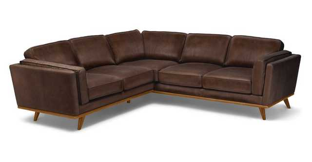 Timber Charme Chocolat Corner Sectional - Article