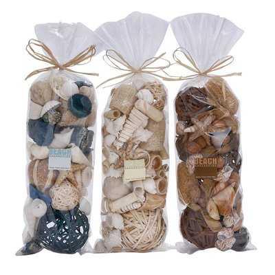 3 Piece Decorative Dried Bag Set - Wayfair