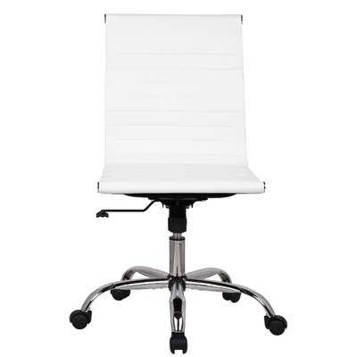 Karina Adjustable Mid-Back Desk Chair - Wayfair