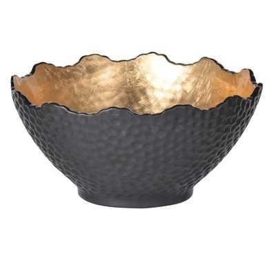 Martindale Stoneware Gilded Decorative Bowl - Birch Lane