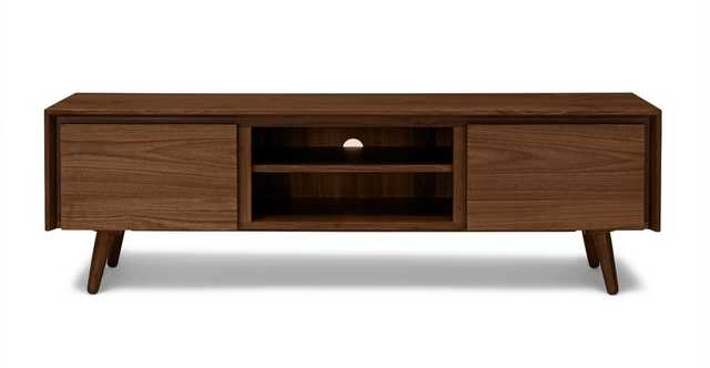 "Seno Walnut 63"" Media Unit - Article"