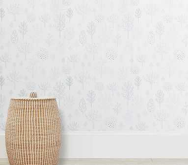 Tree Wallpaper, Netural - Pottery Barn Kids