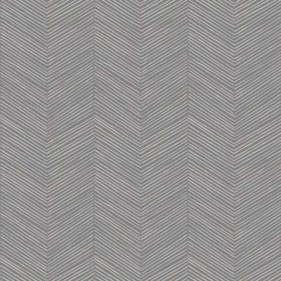 Arthouse Arrow Weave Charcoal (Grey) Wallpaper - Home Depot