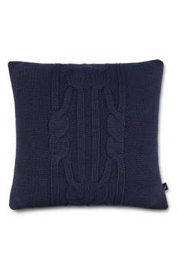 Nautica Bartlett Knit Pillow, Size One Size - Blue - Nordstrom