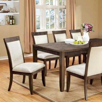Entrekin Transitional Dining Table - Wayfair