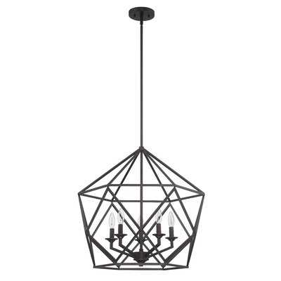 Matta 5-Light Geometric Chandelier - Wayfair