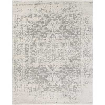 Hillsby Gray/Beige Area Rug - Wayfair