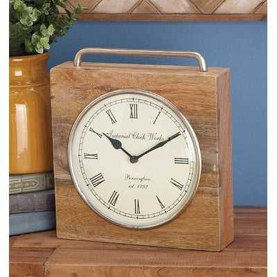 Table Clock - Wayfair