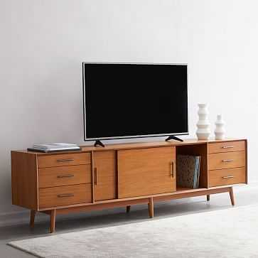 "Mid-Century Media Console, 96"" - West Elm"