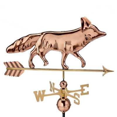 Fox Weathervane - Pure Copper - Home Depot