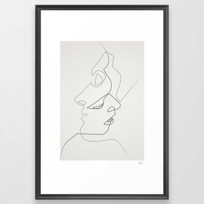Close Framed Art Print by Quibe - Society6
