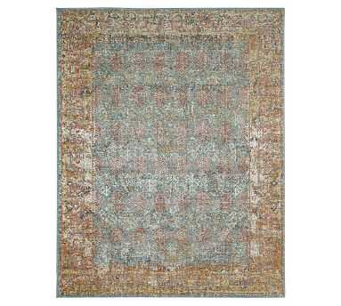 Caroll Synthetic Rug, 5.7 x 7.6, Multi - Pottery Barn