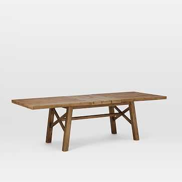 """Jardine Expandable Dining Table (77"""" to 98""""), Driftwood - West Elm"""