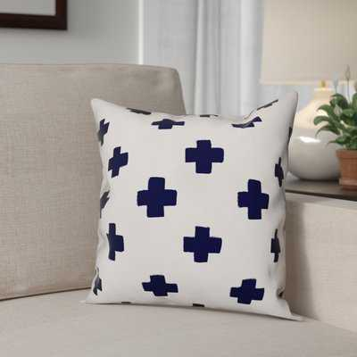 Blanchard Swiss Cross Throw Pillow - Wayfair