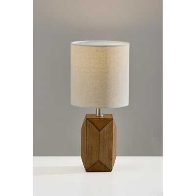 """Wood Accent 13"""" Table Lamp - AllModern"""