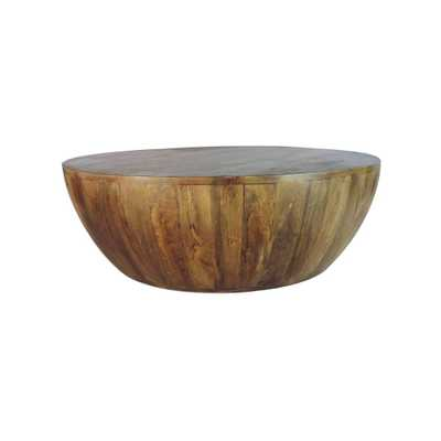 Mango Wood Coffee Table Antique Brown - The Urban Port - Target