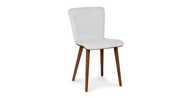 Sede Mist Gray Walnut Dining Chair (set of 2) - Article