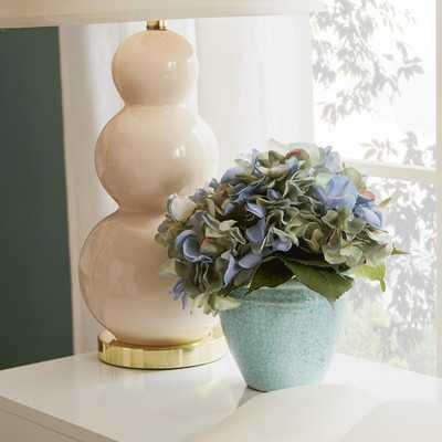 Hydrangea Floral Arrangement in Pot - Birch Lane