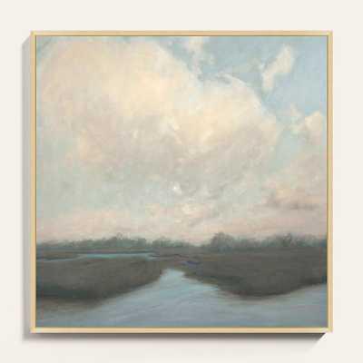 "Pastel Marsh Art  30"" x 30"" - Ballard Designs - Ballard Designs"
