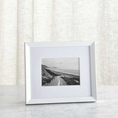 Icon 5x7 White Picture Frame - Crate and Barrel