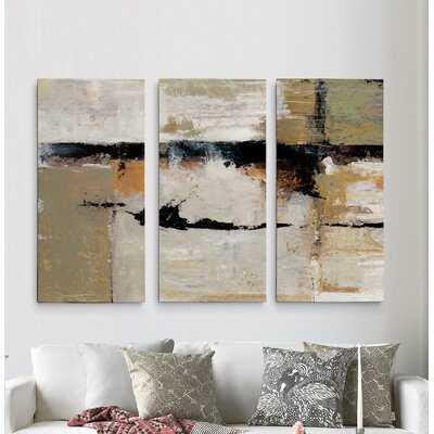 A Premium 'GestureII' Painting Multi-Piece Image on Canvas - Wayfair