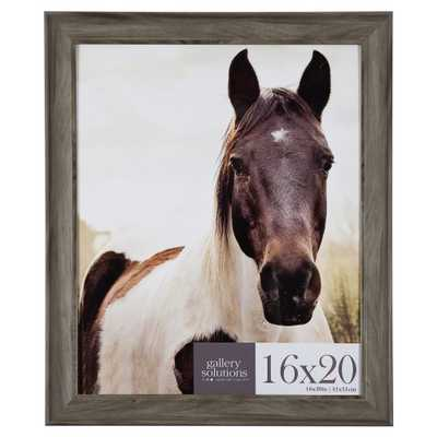 16X20 Greywash Large Wall Frame - Gallery Perfect, Grey - Target