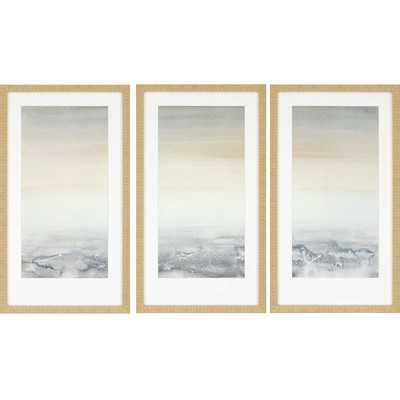 'Sable Island' 3 Piece Framed Painting Print Set - Wayfair