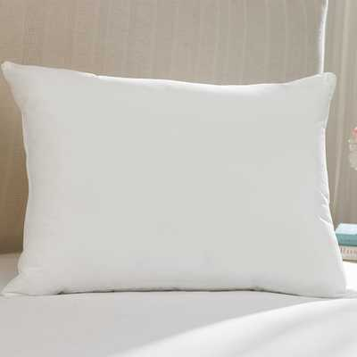 Hot Water Washable Allergy Protection 20 in. x 26 in. Medium Density Standard Pillow, Medium Firmness - Home Depot