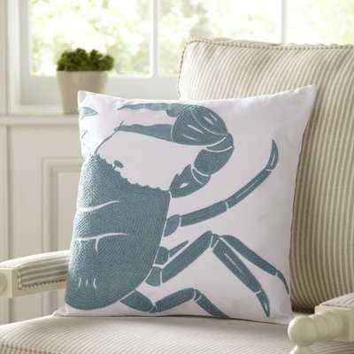 Brecksville Crab Pillow Cover - Birch Lane
