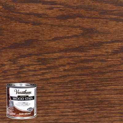 Varathane 8 oz. Dark Walnut Premium Fast Dry Interior Wood Stain (4-Pack) - Home Depot