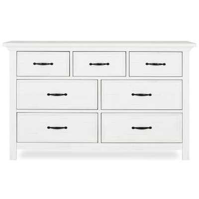 Evolur Belmar 7-Drawer Weathered White Dresser - Home Depot