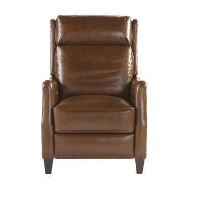 Velma Leather Recliner - Wayfair