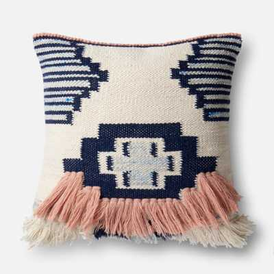 PILLOWS - NAVY / PINK - Loma Threads
