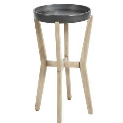 Layne Tall Round End Table - Wayfair