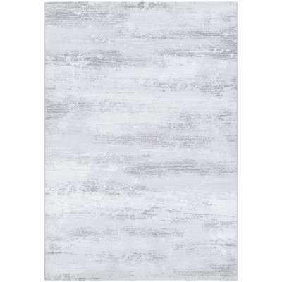 "Driggers Light Gray/White Area Rug -  9'2"" x 12'9"" - Wayfair"