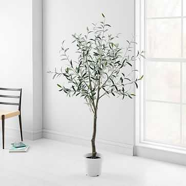 Artificial Plants, Olive Tree - West Elm