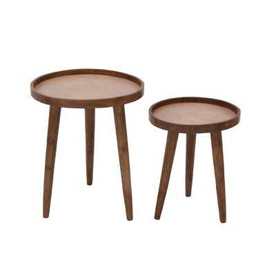 2 Piece Nesting Tables - Wayfair