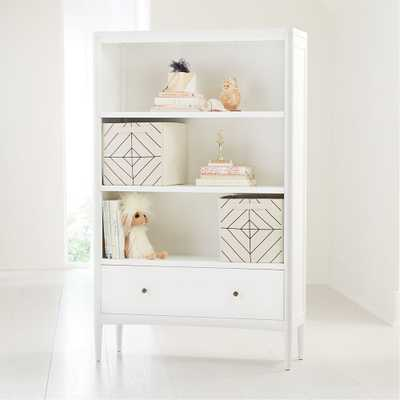 Hampshire Tall White Bookcase - Crate and Barrel