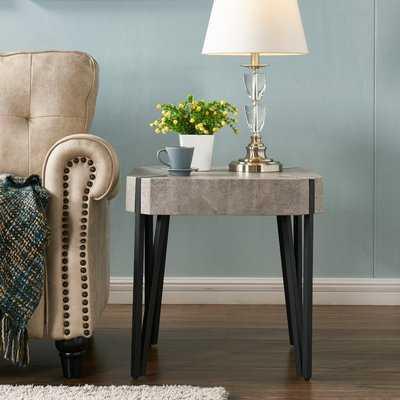 Vincente End Table - Wayfair