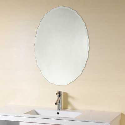 Denzer Frameless Wall Mirror - Wayfair