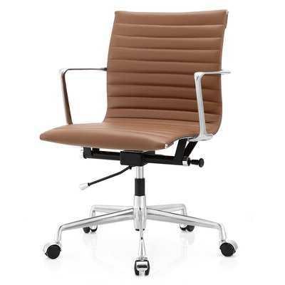 Aniline leather Office Chair - Wayfair
