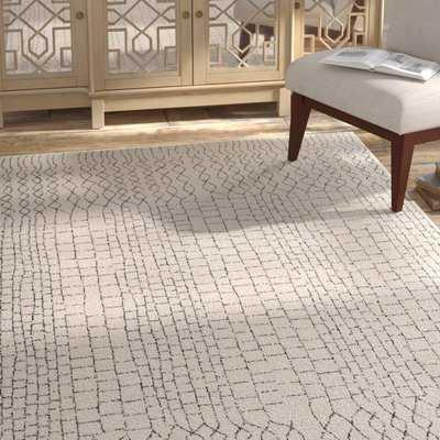 Randell Beige/Gray Area Rug - Wayfair