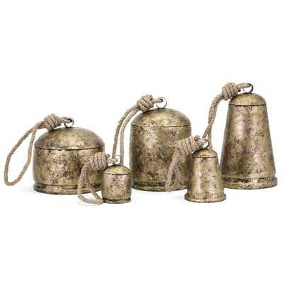 Lobdell 5 Piece Temple Bells Chime Set - Wayfair