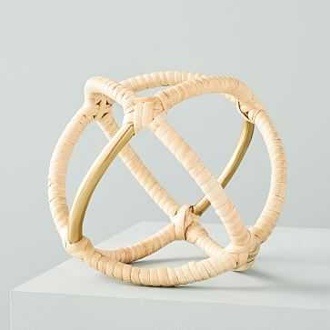 Rattan Wrapped Object - West Elm