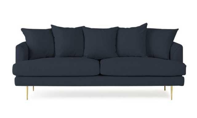 Blue Aime Mid Century Modern Sofa - Bentley Indigo - Joybird